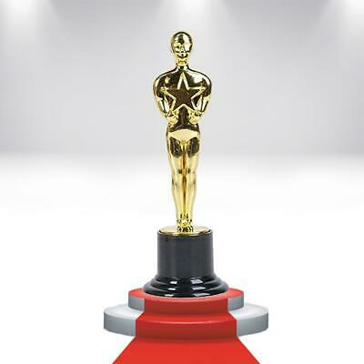 Hollywood Award Gold Trophy 12PK Oscar-Inspired VIP Party Favor Novelty
