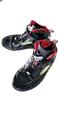 low priced 5004c 066aa Nike Air Jordan Spizike Black Red-Stealth 2010 315371 Basketball Shoes Mens  SZ 8