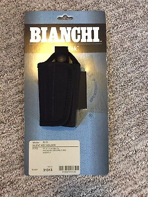 Bianchi Patrol Tech Black Nylon Silent Key Holder Model 8016