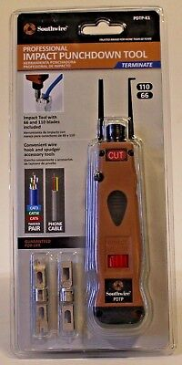 Southwire PDTP-K1 Professional Impact Punchdown Tool FREE SHIPPING