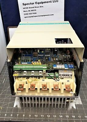 Siemens Simoreg 6RA K Converter With Microprocessor Single Quadrant Drive [C1S3]