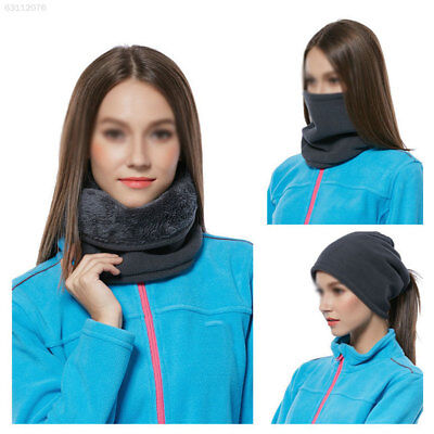 209A 5 Colors Cotton Thermal Neck Scarf Balaclava Hat Beanie Winter
