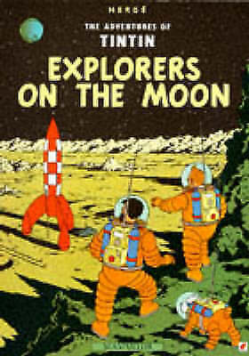 Acceptable, Explorers on the Moon (The Adventures of Tintin), Herge, Book