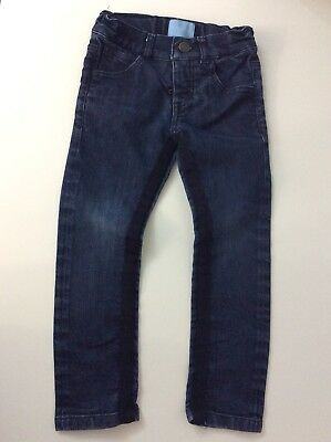 Lanvin SIMONETTA Boys Skinny Stretch Jeans Age 4 Years Blue Denim