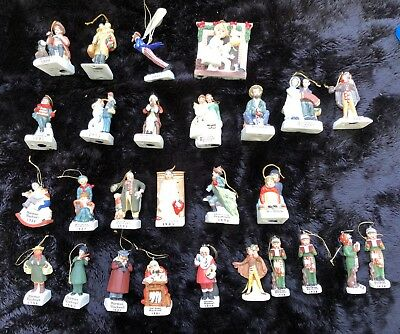 Set of 27 Norman Rockwell 1978 - 2004 Dave Grossman Ornaments