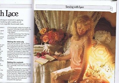 Embroidery LACE CRAFT 50 patterns Heirloom Sewing Lingerie Baby Dress Bridal