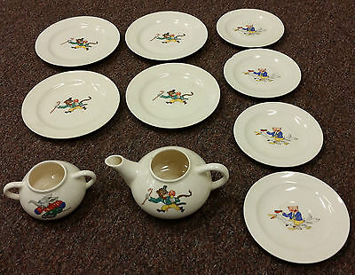 Edwin M. Knowles china tea set - partial?- Early 40s?