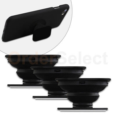 3 Universal PULL OUT-UP Phone Stand Expand Grip Tablet Holder Square Mount Stand