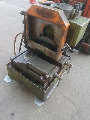 Eisele Industrial Metal Chop Saw Cutter Cold Heavy Duty 3 Phase Coolant VMS 1