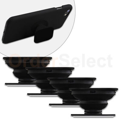 4 Universal PULL OUT-UP Phone Stand Expand Grip Tablet Holder Square Mount Stand