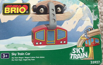 BRIO 33927 Sky Train Wagen - Sky Train Car - OVP - TOP-Zustand RARE VHTF