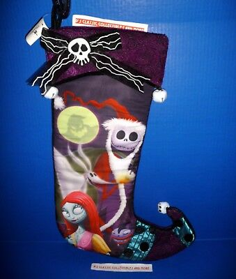 Jack Skellington Christmas.Disney Parks Nightmare Before Christmas Stocking Jack Skellington Christmas New