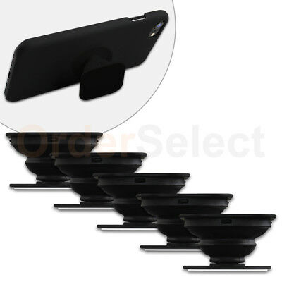 5 Universal PULL OUT-UP Phone Stand Expand Grip Tablet Holder Square Mount Stand