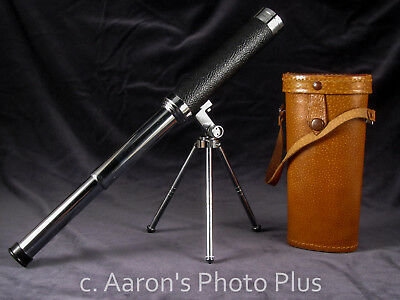 Vintage Monolux Telescope Spotting Scope 30x30mm beautiful condition lot w case