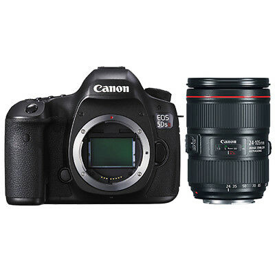 Canon EOS 5DS R Digital SLR Camera Body 50.6 MP + 24-105mm f/4L IS II USM Lens