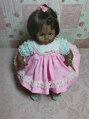 "Vintage 14"" 1977 Madame Alexander Pussycat Baby Doll"