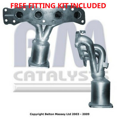 Fit with SUZUKI LIANA 1.6i 16v Catalytic Converter Exhaust 91492H (Fitting Kit I