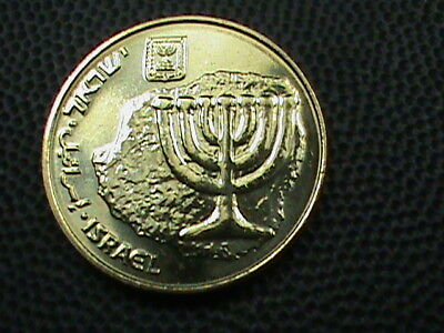 ISRAEL   10  Agorot   2010   UNC   ,  $ 2.99  maximum  shipping  in  USA