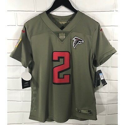 5cde427a NWT NIKE WOMEN'S Salute To Service Atlanta Falcons Jersey Medium NFL Matt  Ryan 2