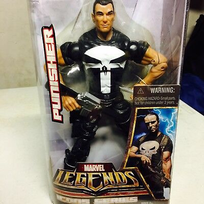 "Hasbro The Punisher Marvel Legends Icons Series 12"" Action Figure MIB"