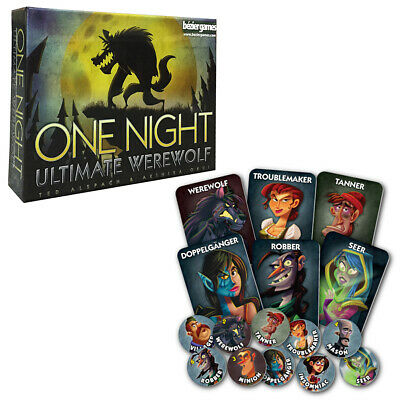 One Night Ultimate Werewolf Card Game NEW