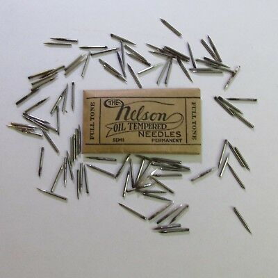 Antique Victrola Needles 100 Full Tone needles  in original packages