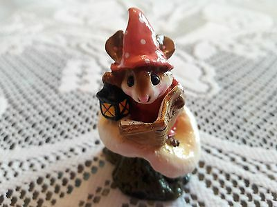 Wee Forest Folk M-163 Elf Tales in RARE SALMON COLOR Retired/Mint/Box