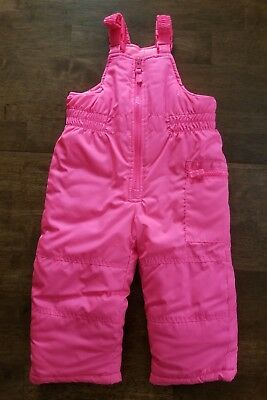 1d7388114 PACIFIC TRAIL BABY Girls Pink Bib Snowpants