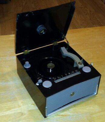 """RCA Victor 6-BY4 Battery Operated  """"Radio / Record Player Phonograph"""