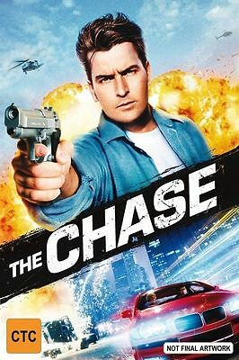 The Chase DVD Charlie Sheen New Sealed Australia all regions