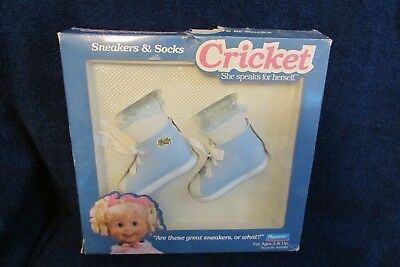 Playmates Cricket Doll - Sneakers and Socks - Original Packaging