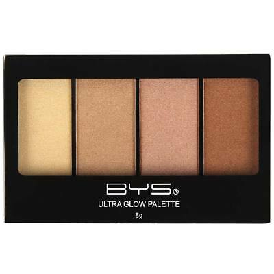 BYS Maquillage - Palette Highlighter Ultra-Glow Sun Kiss