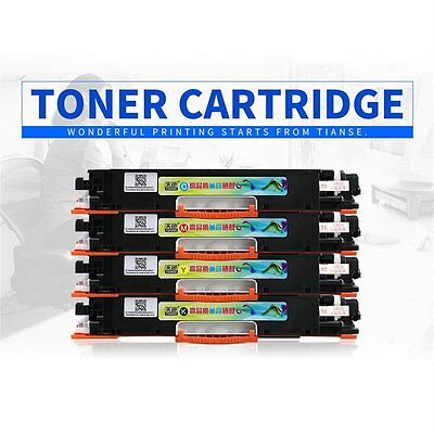NEW TIANSE CE310A Toner Cartridge for HP Color Laserjet Pro MFP M176N/177FW QW