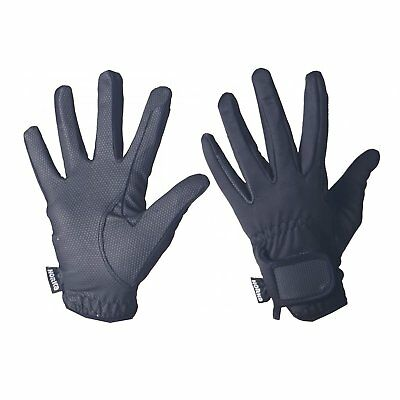 Horka Outdoor Womens Gloves Everyday Riding Glove - Jetblack All Sizes