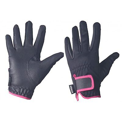 Horka Peak Gloves Womens Everyday Riding Glove - Hot Pink All Sizes