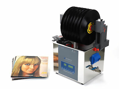 CleanerVinyl Max Ultimate Kit-Ultrasonic Vinyl Record Cleaner w Fluid Filtration