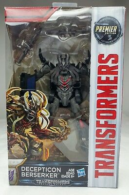 NIB Transformers The Last Knight Premier Edition Decepticon Berserker Hasbro