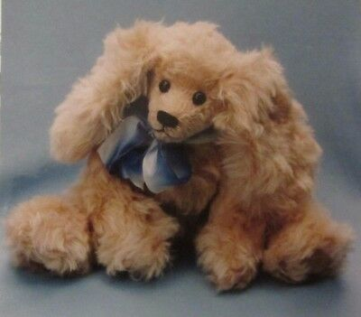 """Scooter Cocker Spaniel"" Pattern 12"" Stuffed Animal Dog Puppy Good Bear Collect."