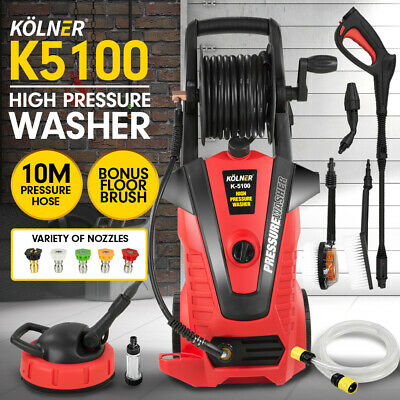 Kolner 3800psi Cleaner Electric Pressure Washer Gurney Pump Hose Water Jet Gun