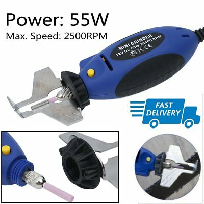 12V Chain Saw Sharpener Chainsaw Electric Mini Grinder File Pro Tools 25000RPM