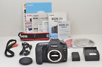 """EXCELLENT"" Canon EOS 5D MARK II 21.1MP Digital SLR Camera Black Body #181003f"