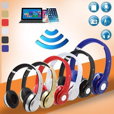 Wireless Bluetooth Headphones Noise Cancelling Over Ear Headset With Microphone