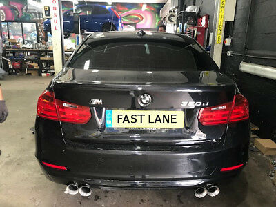 Bmw F30 F31 Custom Made Stainless Steel Cat Back Exhaust System Supply And Fit