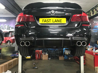 Bmw 5 Series Custom Made Stainless Steel Cat Back Exhaust System Supply And Fit