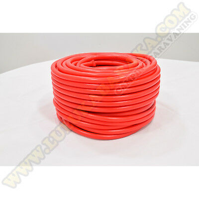 Manguera roja 10mm (rollo 50 metros) Roter Schlauch Red Hose