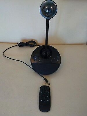 Logitech Bcc950 Video Conference cam Hd Carl Zeiss Remote Control