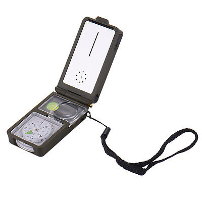 Multifunction 10 in 1 Outdoor Sport Camping Hiking Survival Tool Compass Kit