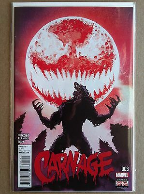 Carnage (2015) #3 Gerry Conway Mike Perkins Mike Del Mundo Nm First 1St Printing
