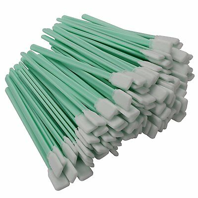 """100pcs 5.1"""" Polyester Cleaning Swab Sticks For  Optical Equipment"""