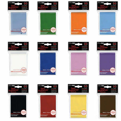 ULTRA PRO DECK PROTECTORS - Magic Pokemon Standard Sleeves (50) LOTS OF COLOURS